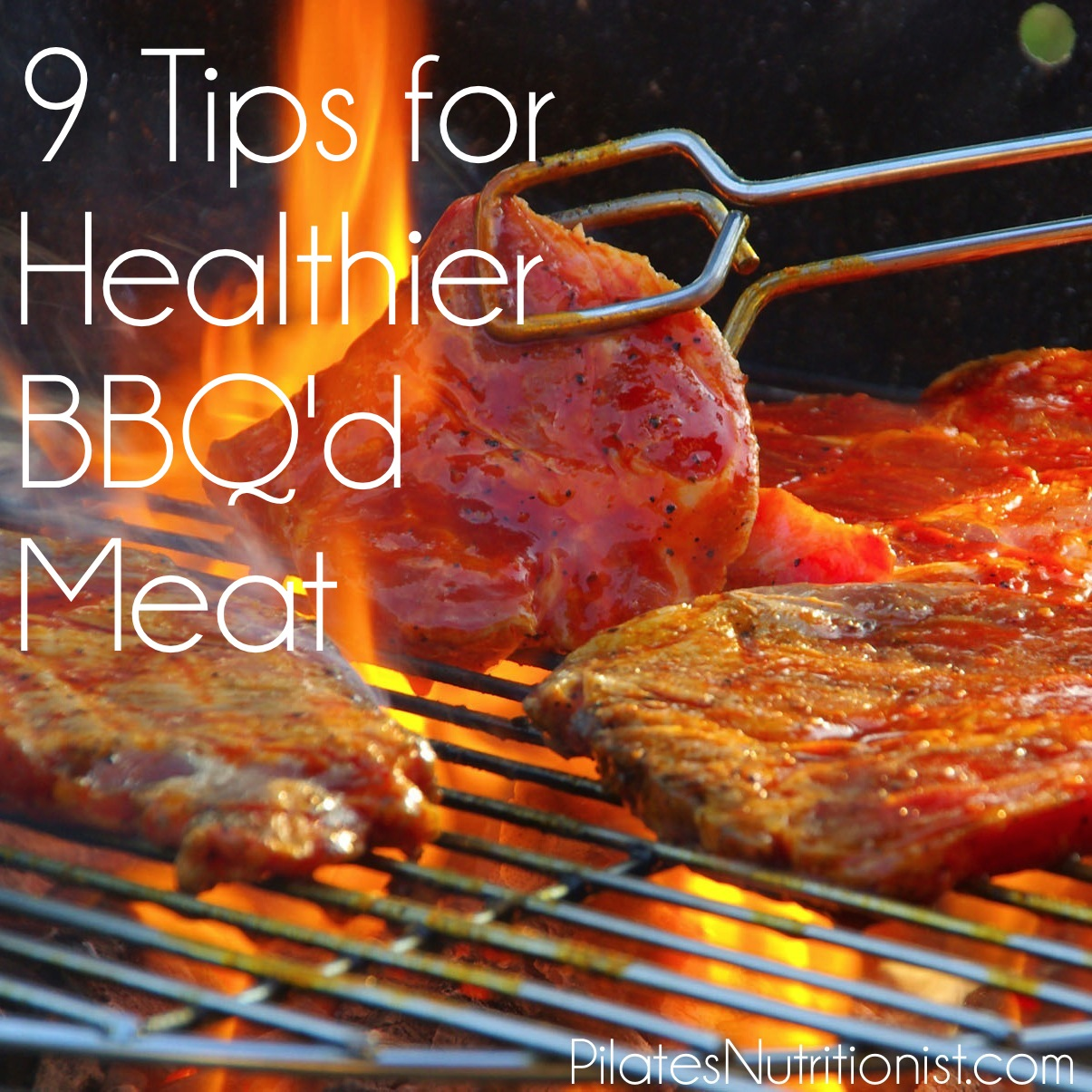 9 tips for healthier bbq'd meat