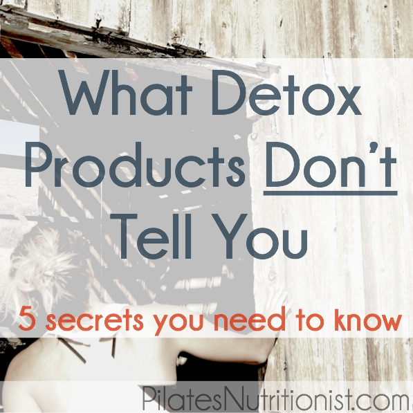what detox products don't tell you
