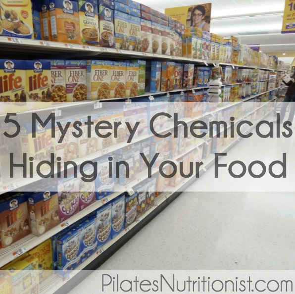 5 mystery chemicals hiding in your food
