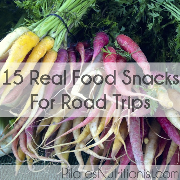 real food snacks for road trips