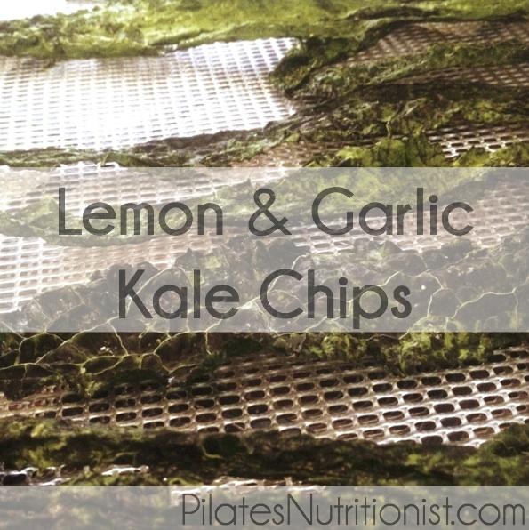 Lemon & Garlic Kale Chips
