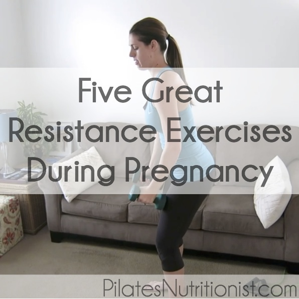 Five great resistance exercises during pregnancy