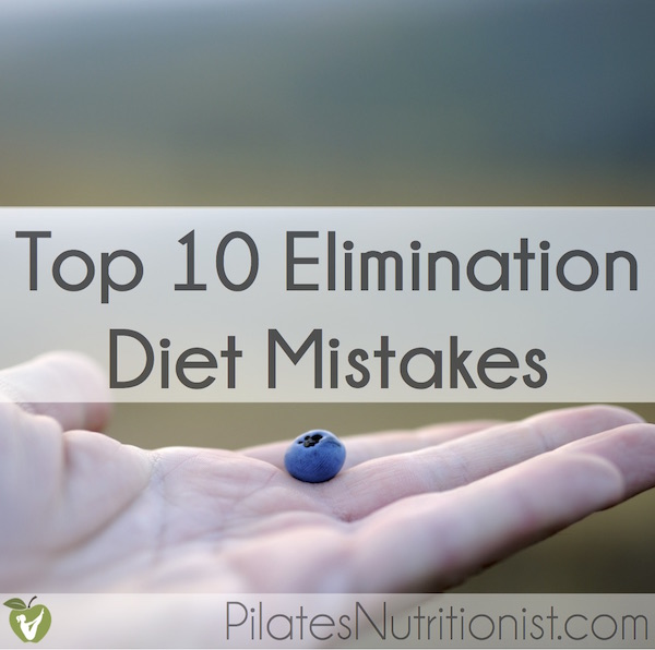 Elimination diet causing diarrhea