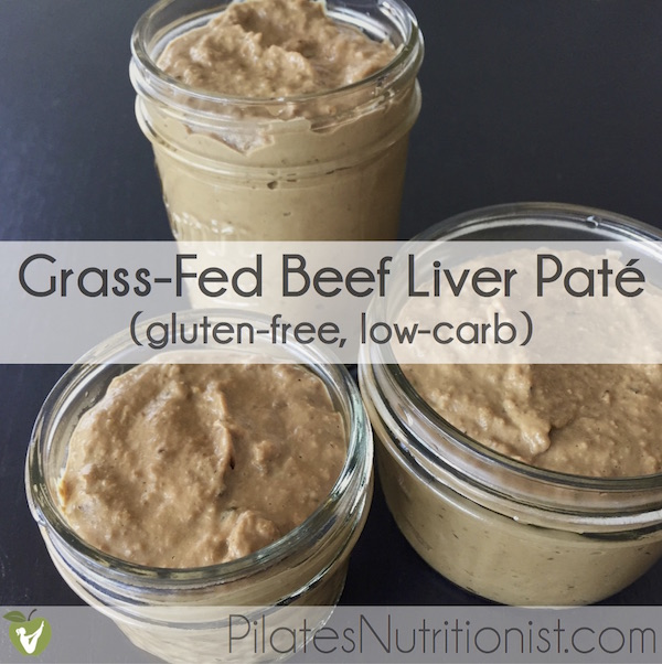 grass-fed beef liver pate