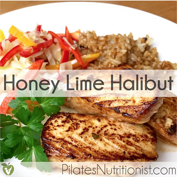 Honey Lime Halibut
