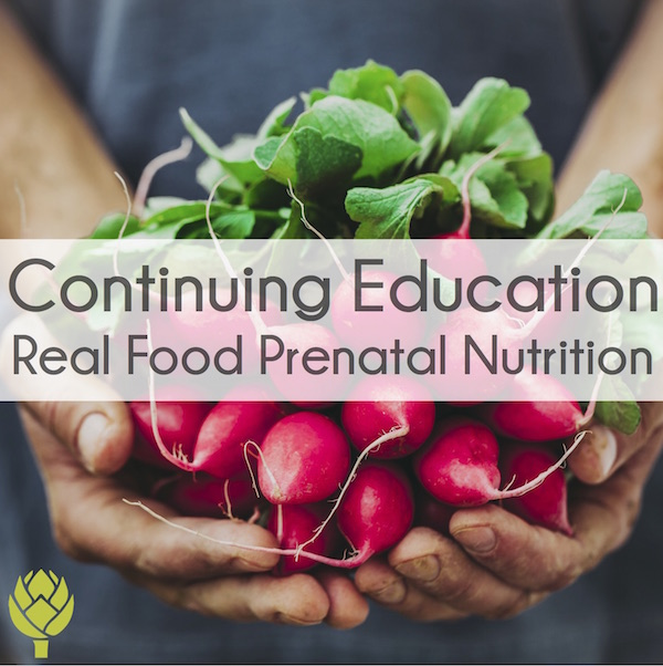 Real Food Prenatal Nutrition