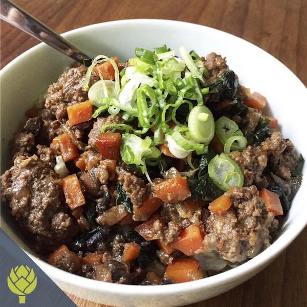 Low Carb Low Sugar Korean Beef Bowls
