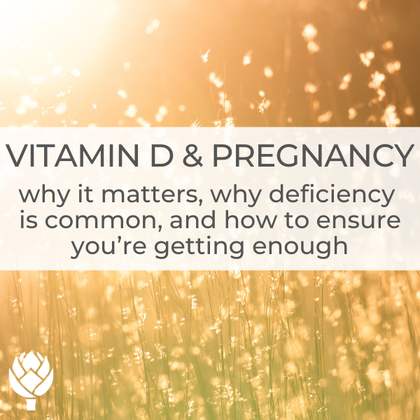 vitamin D and pregnancy